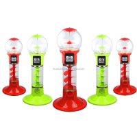 NNL-115 toy/candy /bouncy ball/gumball vending machine spiral