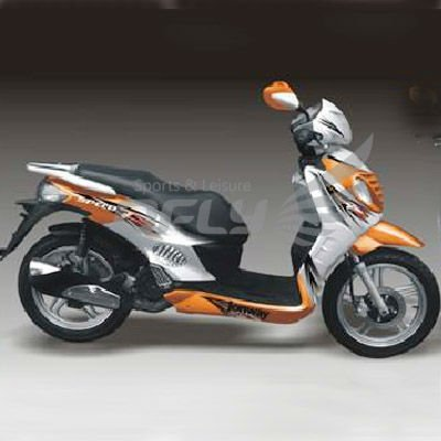 EEC Approved Gas Motor Scooter with 4 Stoke 125cc Engine MS1277EEC
