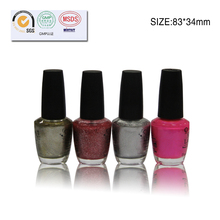Hot sell for Orgainic water based nail polish, Peels off in seconds, peelable nail polish