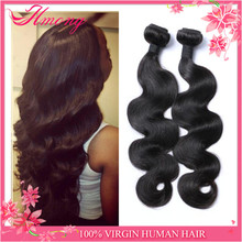 Factory Direct Wholesale Grade 7A Natural Color Body Wave 100 Human Virgin Brazilian Hair Weave