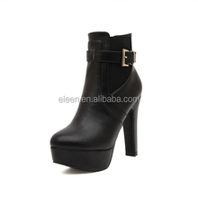 High heel women shoes new design women boots 2017