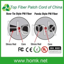 Customized length PM Fiber Optic Cable 980/1060/1310/1550nm Panda Patch Jumper