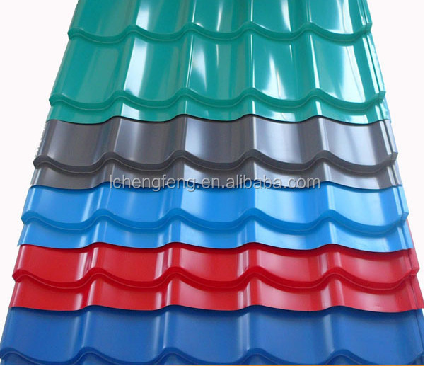 Made in China corrugated plastic sheet/zinc coated roofing/corrugated polycarbonate sheet