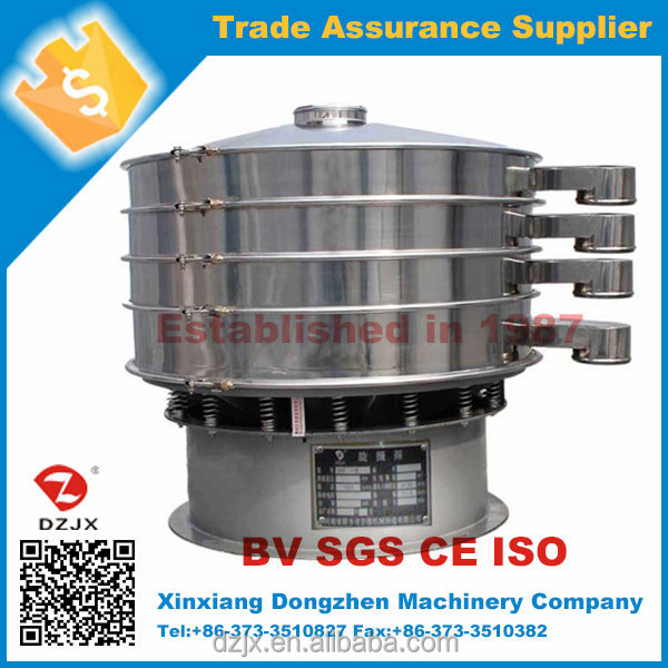 China CE chemical vibrating screening and separation equipment