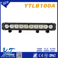 20inch LED Indicator Bar pc Lens black led light bar truck and trailer with 10~30v