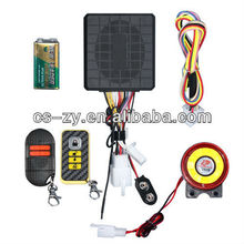 2012 alarm system motorcycle with host horn remote are all waterproof