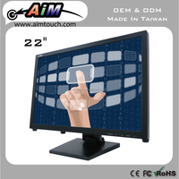 AIMTOUCH 22 inch Resistive Desktop Display tft lcd 1680x1050 Touch Screen Monitor Taiwan
