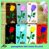 2015 Phone Accessories Color Rose Silicone Protective Case for iPhone 6