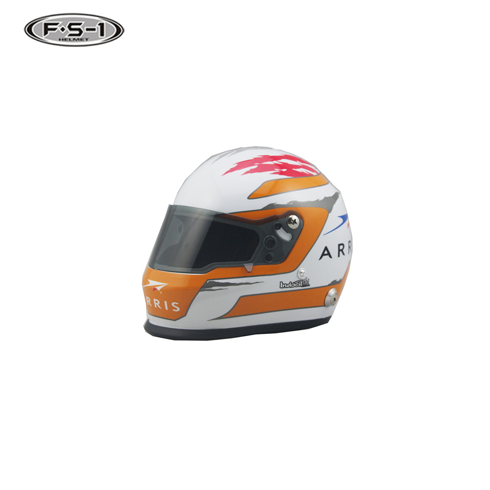 Low price souvenir toy small size DOT motorcycle mini motor helmet for gift