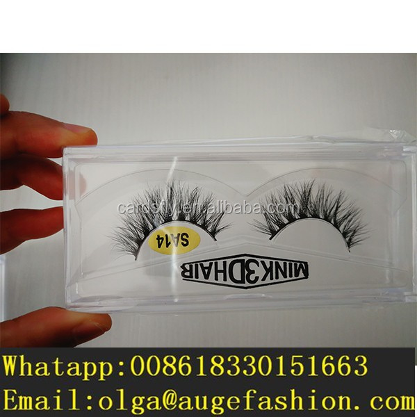 fashion 3D real mink real eyelash with private eye lash lift perm private label