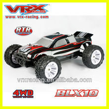 Vrx racing rc car 1/10 4wd electric powered rc car in radio control toys,rc monster truck 1:10 electric
