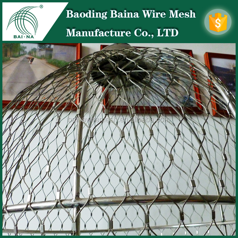 alibaba China SS316 stainless steel bird netting wire mesh