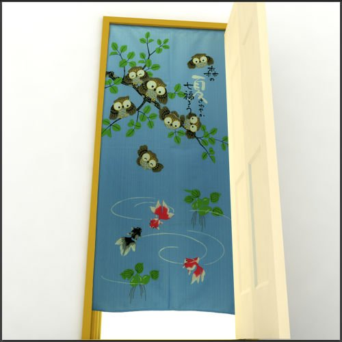 Japan Curtain Drapes Noren 170cm X 85cm Japanese Style Door Window Curtain