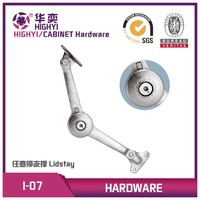 360 degree turn arround Lid stay for cabinet, lid support I-07