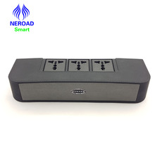 2017 Newest Bluetooth desktop Speaker Mini Desk Office multimedia Speaker intelligent power outlet