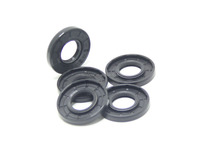 Metal and rubber oil seal