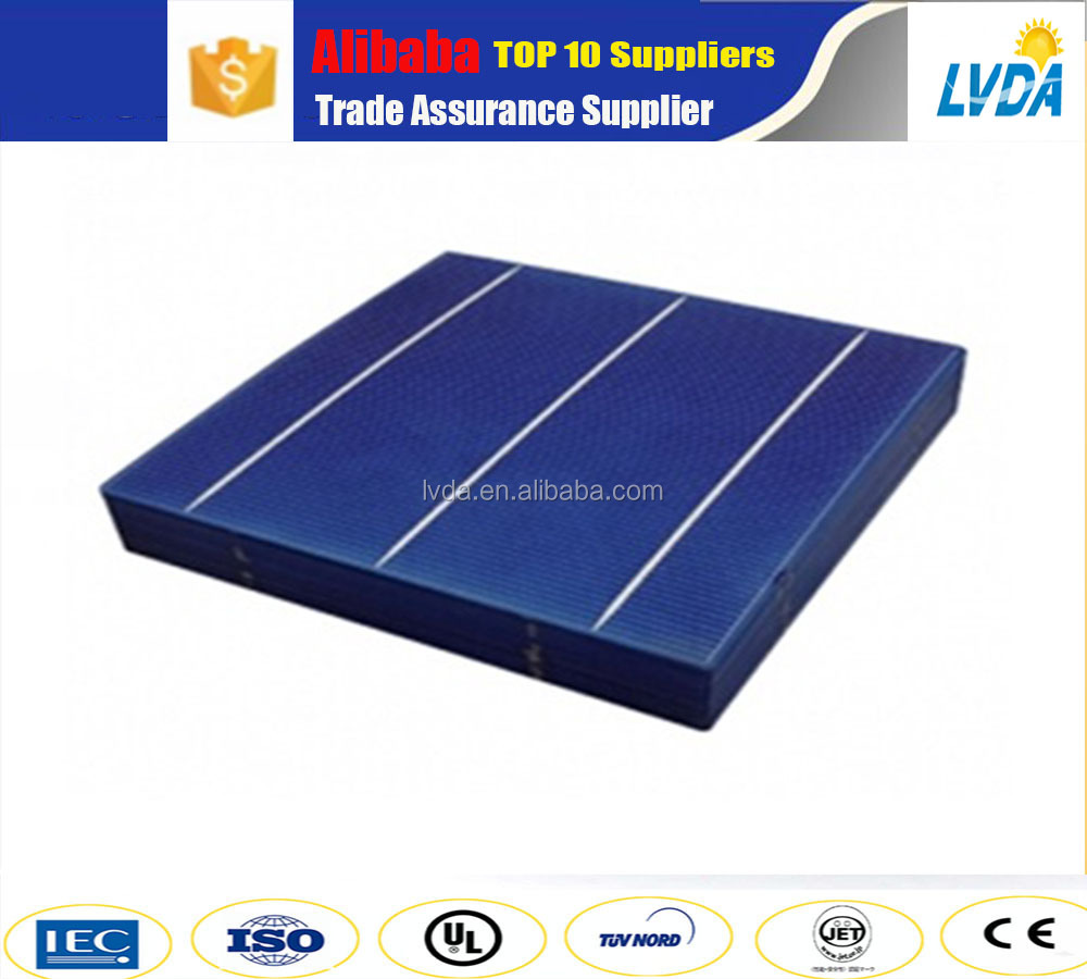 Normal specification and high technology home application 156mm polycrystalline cheap solar cell for sale