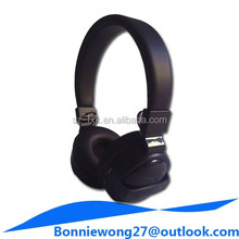 Hot selling sport high quality wireless bluetooth headphone with memory card slot mp3 music player and fm radio