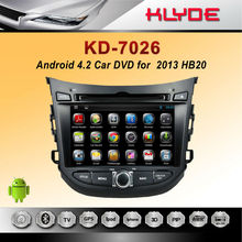 Best sell android car dvd multimedia gps navigation system for HB20 2013