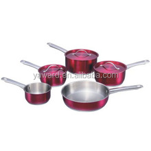 Widely used stainless steel home kitchen appliances with s/s lid