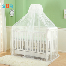 OEM luxury transparent folded baby mosquito bed canopy net tent
