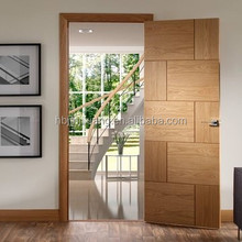 Simple design veneered Flush Wood Door entry apartment door