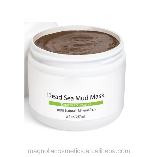 OEM Pure Dead Sea Mud Mask For Detoxifies and Restores