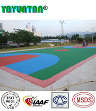 Abrasion and Anti-Slip vinyl volleyball courts flooring