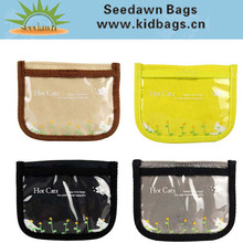 Kids Coin Purse Pouch for Pocket Money with Clear Vynil PVC