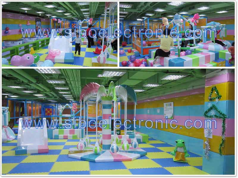 GM20160721C High quality kids playing house indoor play equipment for sale