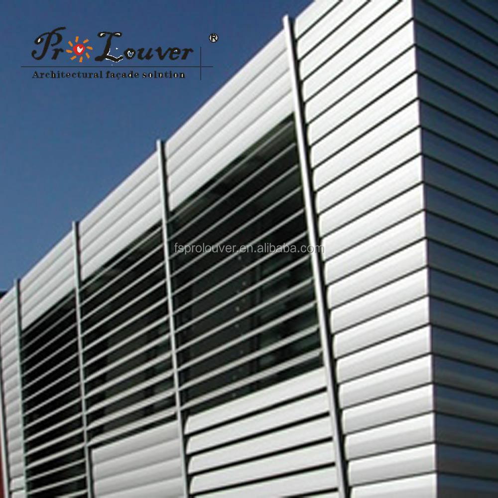 Exterior sun shades for windows - Aluminum Exterior Sun Shade Louver Aluminum Sun Louvre Buy Vertical Aluminum Sun Louvers Aluminium Exterior Louver Sun Shade Aluminium Louvers Product On