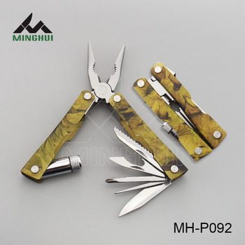 Multi purpose plier with LED