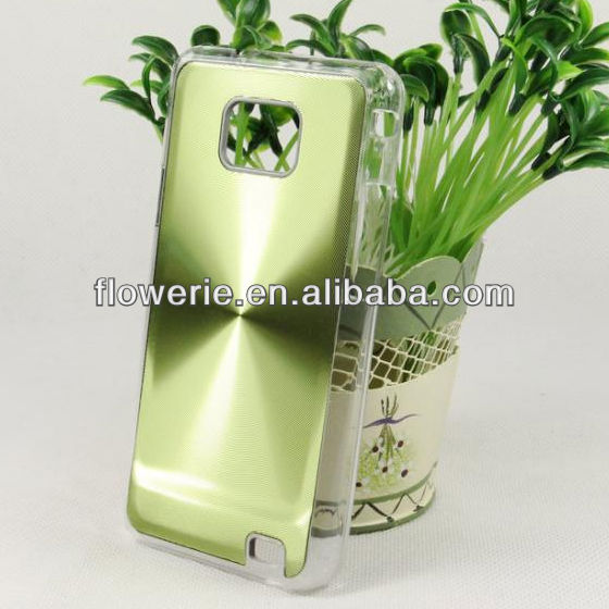 FL2220 2013 Guangzhou hot selling aluminium CD pattern back cover phone case for samsung galaxy s2 i9100