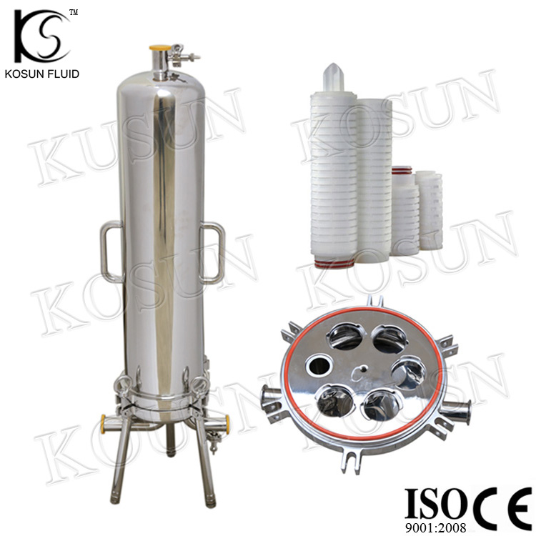 ss 316 stainless steel filter cartridge housing