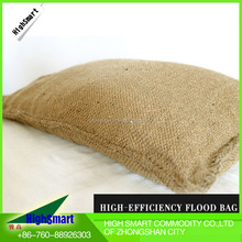 2016 nonwoven inflatable jute sack sandbag for anti-flood water stop
