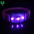Wholesale Popular Party Promotion Gifts Cheap ABS Led Light Wristband For Events