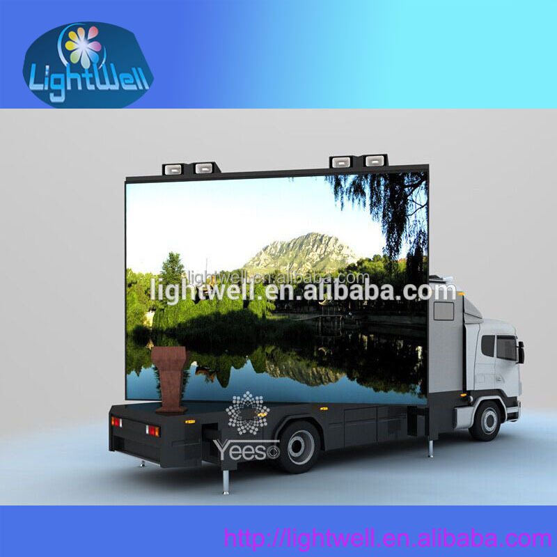 xxx bus video p8 led open traffice sign
