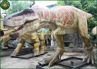 Lisaurus-002 VK Power operated life size dinosaur for theme park