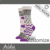 Wholesale Custom Design Crew Length Women's 144 Needles Leaves All Over Pattern Sock