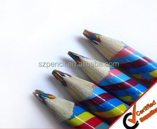 Promotional top quality Wooden color Pencil 4mm Lead free samples