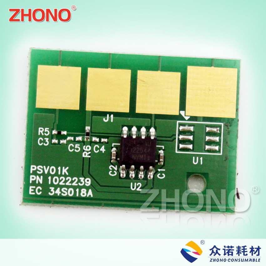 Factory price used for lexmark E260 reset toner chip