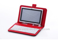 7 inch tablet pc keyboard/case for samsung tab3 7'' case