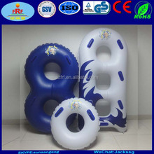 Single,double and Triple Inflatable water park tube, Inflatable waterpark slide tube