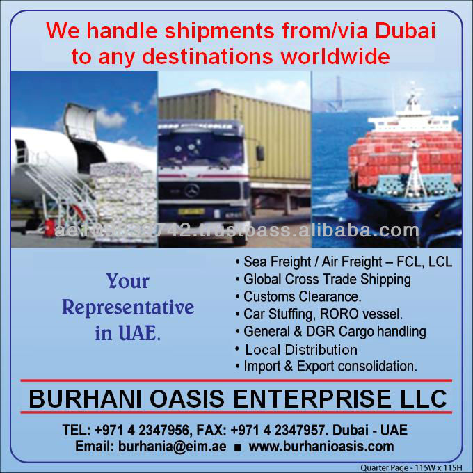 Services for Bitumen from BandarAbbas, Iran to India, Africa