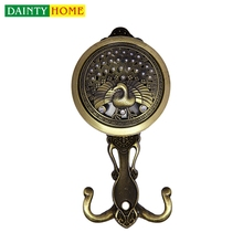 Wholesale Window Decor Hardware Curtain Hook Drapery Medallion Decorative Tieback Holdback