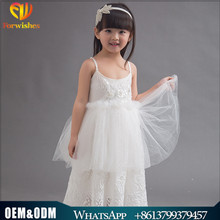 2017 long design vintage baby girl wedding party bridesmaid dress white first communion floor length maxi dress