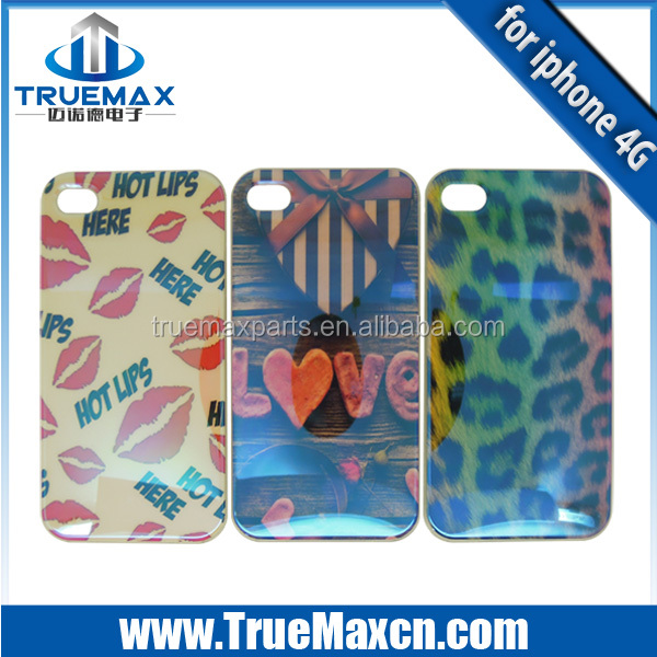 Wholesale 3D Case for iPhone 4/4s, Hot Selling 3D case for iPhone