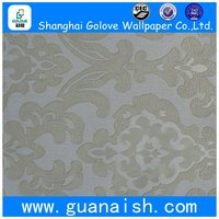 Goog sale hot sale blown vinyl deep embossed wallpaper