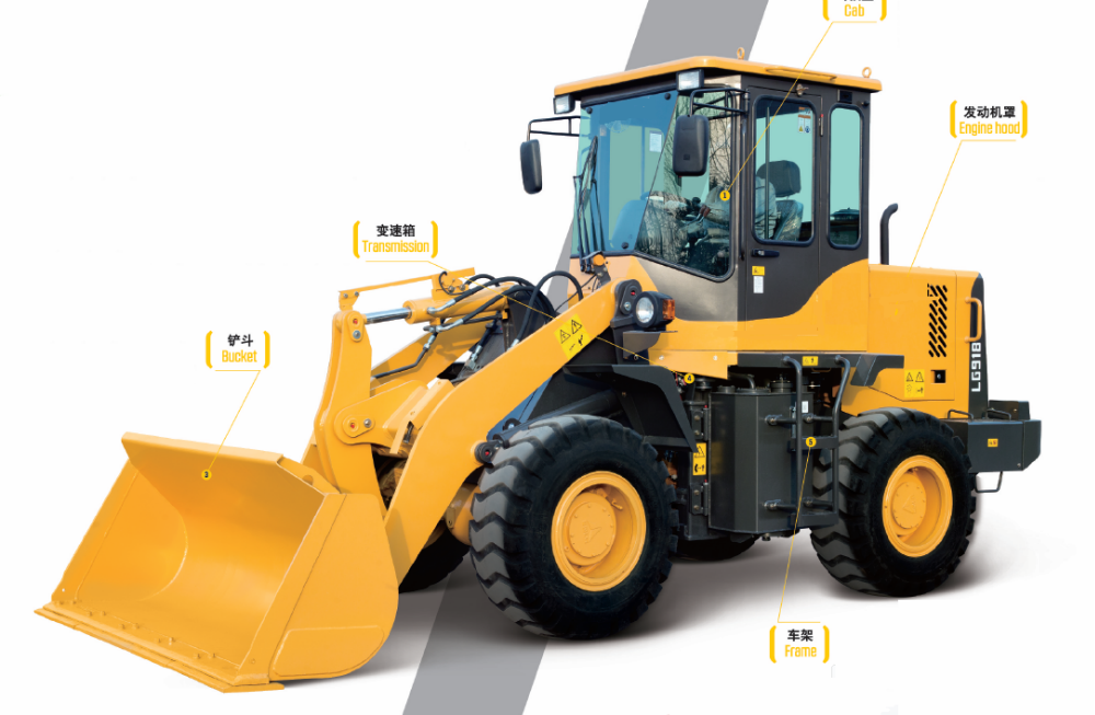 New wheel loader price low