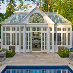 Energy-saving temperede Insulated Glass Sunroom,glass house / sun room